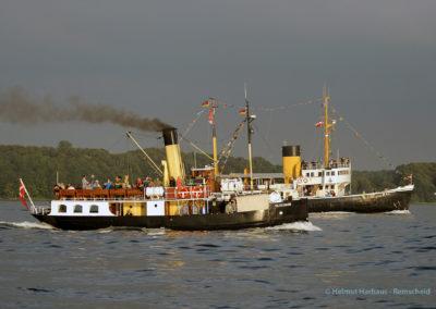 Hartes Rennen mit der Wal aus Bremerhaven