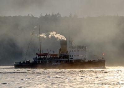 ...und die Stettin ruhen sich in der Abendsonne vom Rennen aus