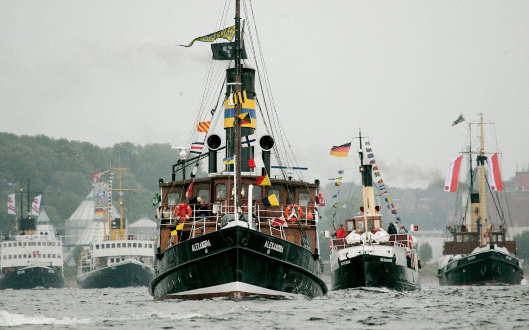 Flensburger Dampfrundum vom 7. – 9. Juli
