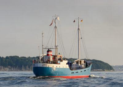 Küstenmotorschiff Samka aus Marstal / Ærø