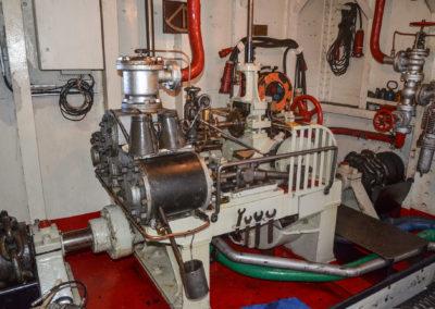 ---und die Rudermaschine der Stettin