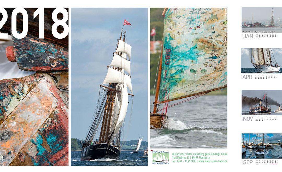 Der Kalender für 2018 ist da