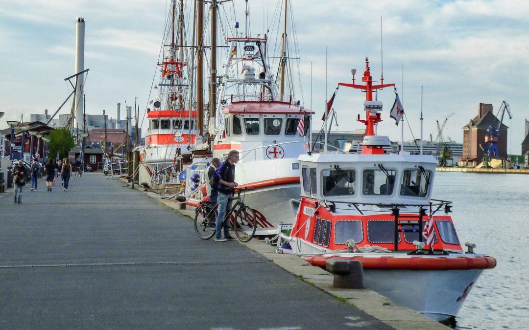 Open Ship bei den Seenotrettern am Samstag, 26.5.2018