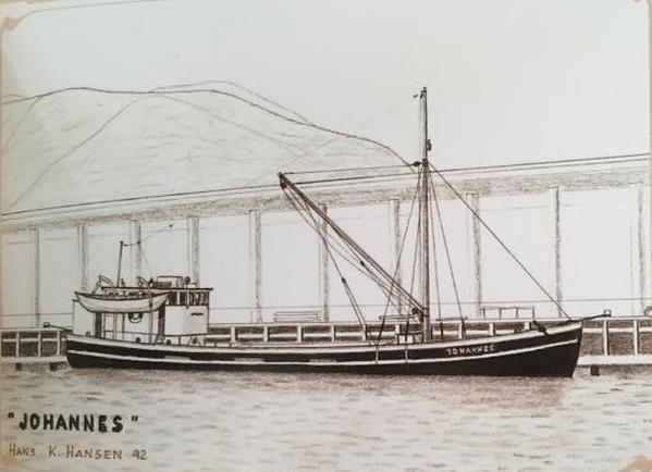 Suchmeldung:  JOHANNES 1908  ex Jagtschoner – Wer kann helfen?